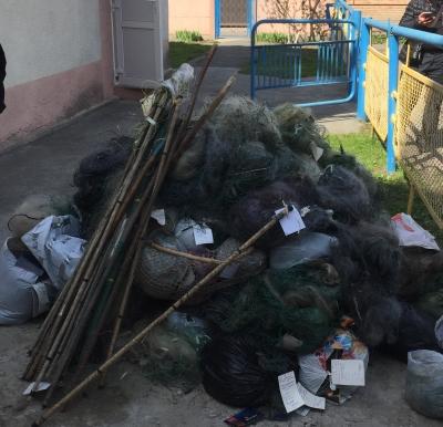 Волинським рибоохоронним патрулем знищено 412 одиниць заборонених знарядь лову