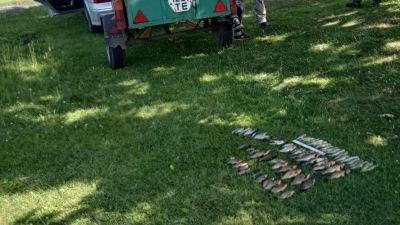 Зафіксовано порушення з ознаками кримінального правопорушення, - Волинський рибоохоронний патруль
