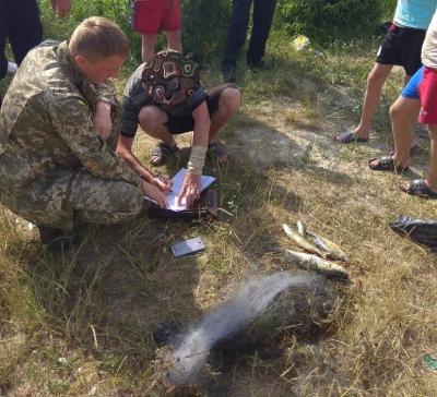 На ставку у Ківерцях затримали порушників з трьома сітками