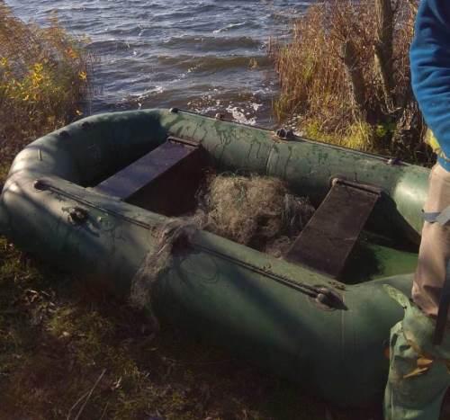 За два дні рибпатруль вилучив більше 10 безгосподарських сіток на водоймах Волині